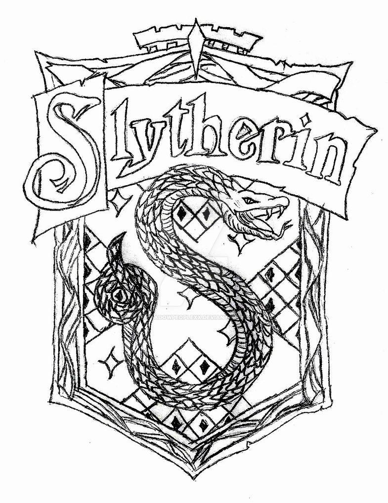 The Slytherin Crest By XXShadowPeopleXx