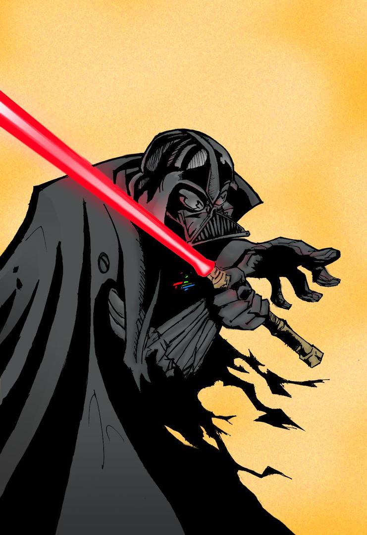 darth vader-star wars by xandrian