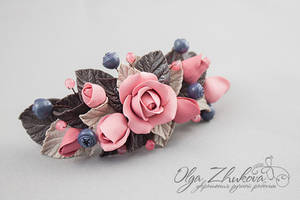 Clip-automatic with flowers and berries by polyflowers