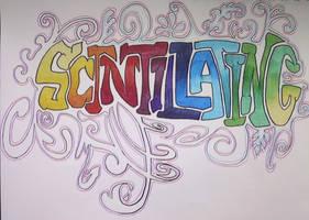 Scintillating by gyerase