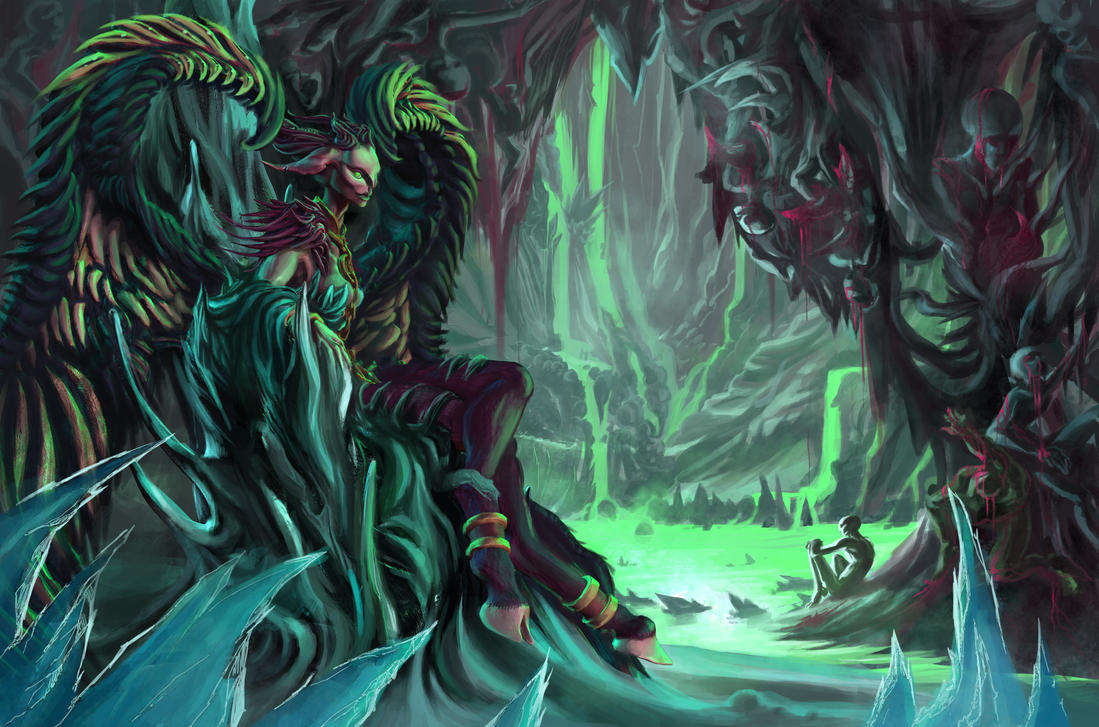 Dante's Satan by BandanaChick