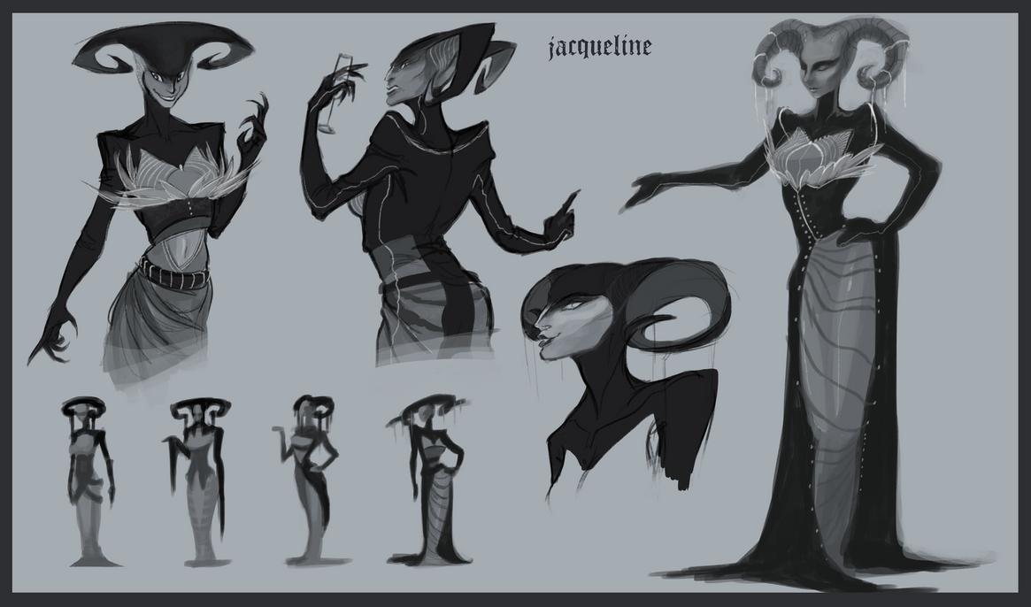 Villain Concepts by BandanaChick