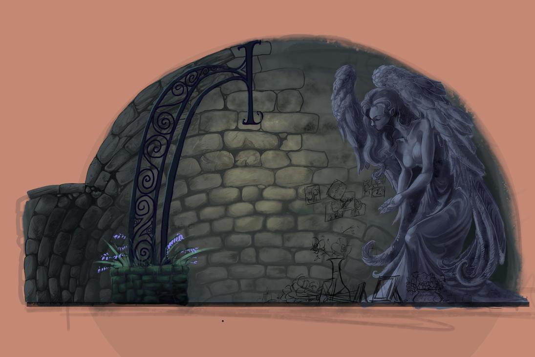Shrine WIP by BandanaChick