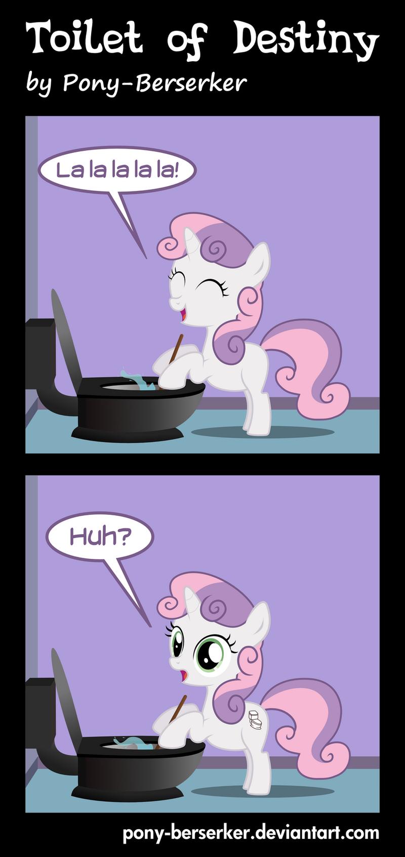 Toilet of Destiny by Pony-Berserker