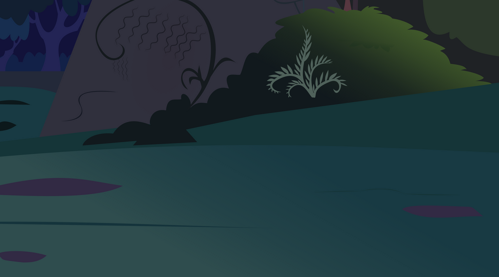 The Everfree Forest (background) VECTOR by Pony-Berserker