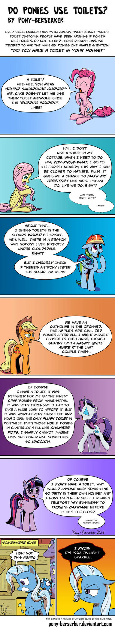Do Ponies Use Toilets? (remake)