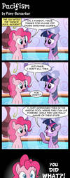 Pacifism by Pony-Berserker