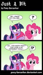 Just A Bit by Pony-Berserker