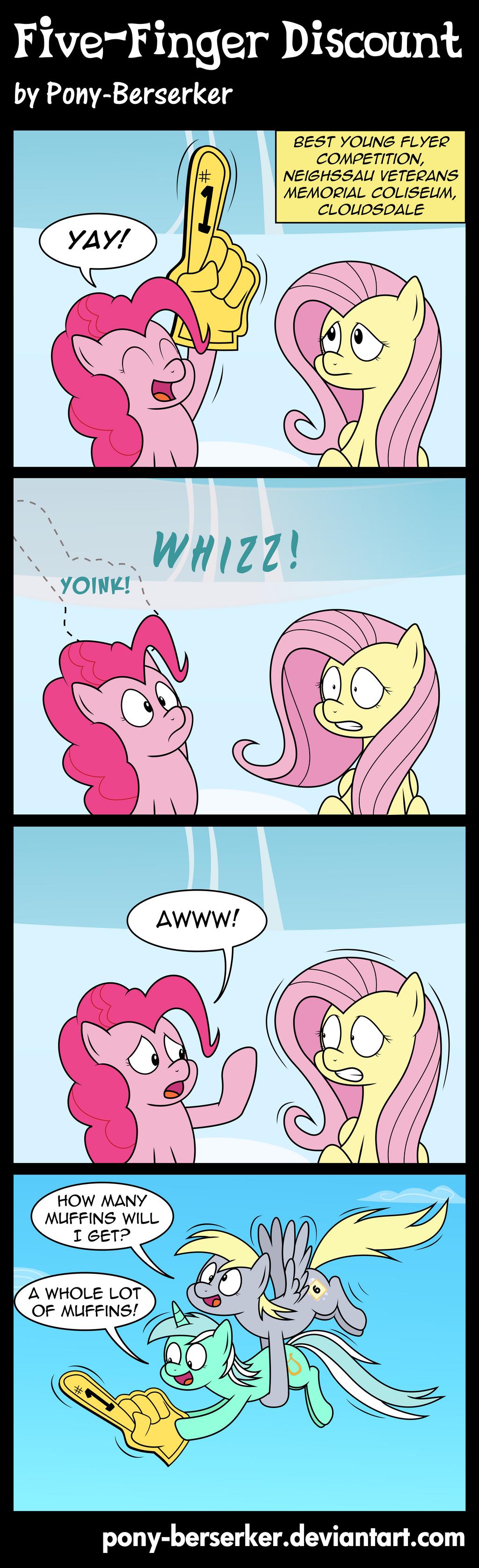 Five-Finger Discount by Pony-Berserker