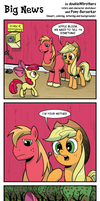 Big News by Pony-Berserker