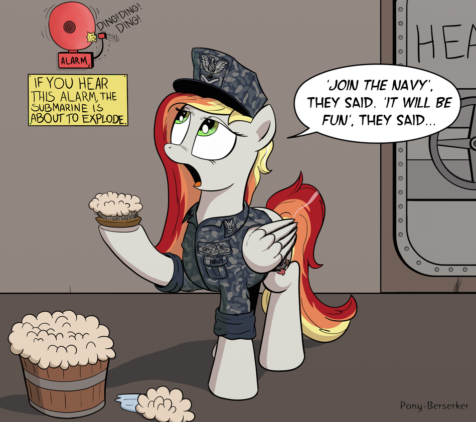 Join The Navy! by Pony-Berserker