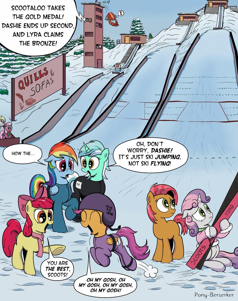 But Still No Cutie Mark by Pony-Berserker