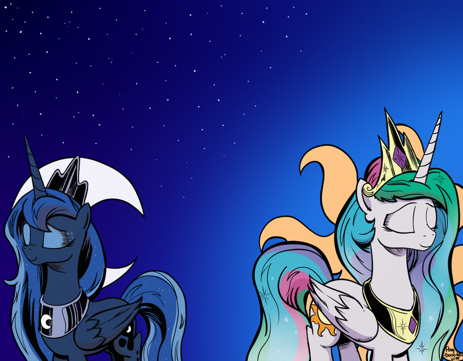Sisters of the Sky by Pony-Berserker