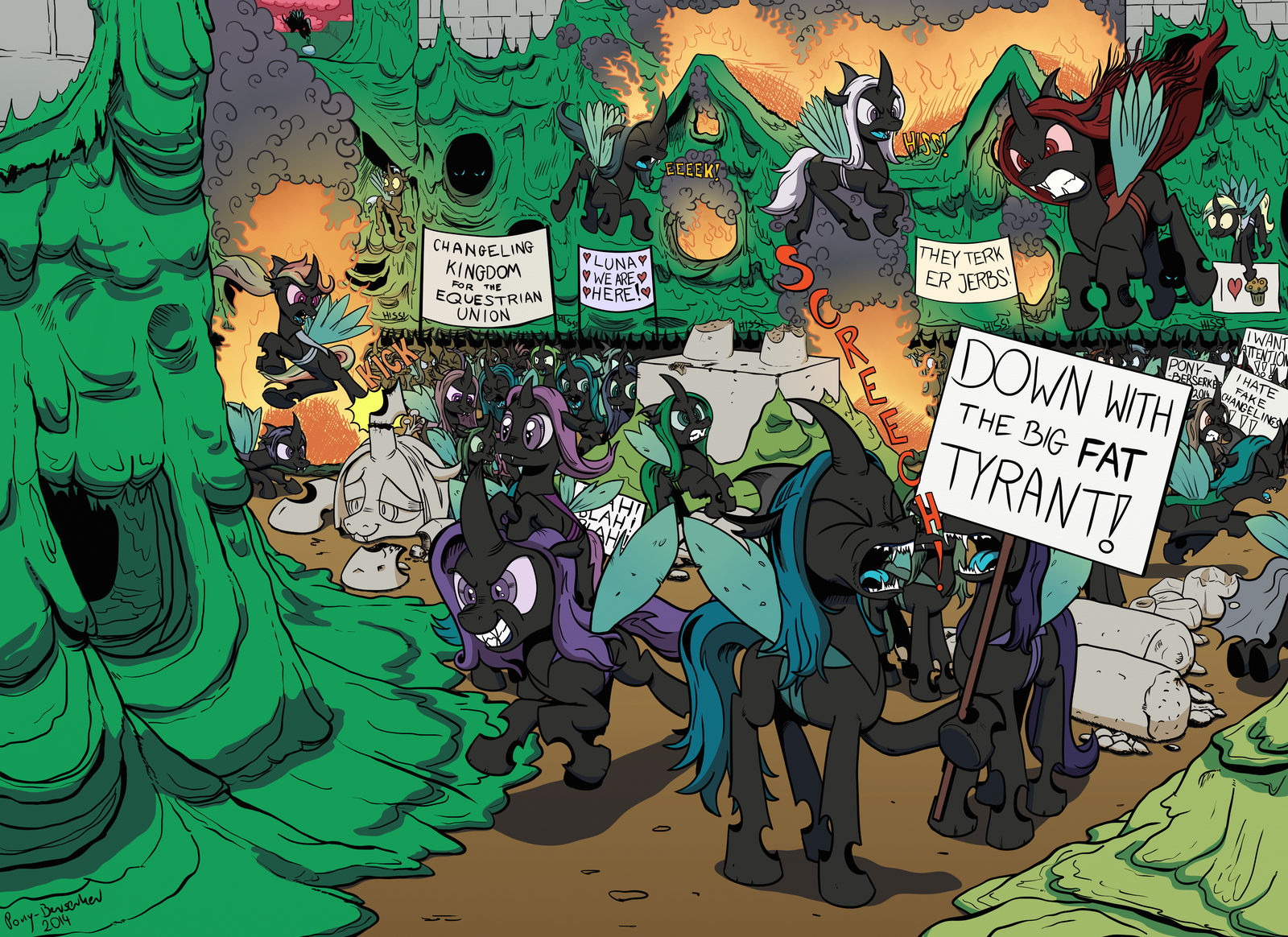 The Times, They Are A Changeling!