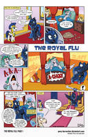 The Royal Flu (Page 1) by Pony-Berserker