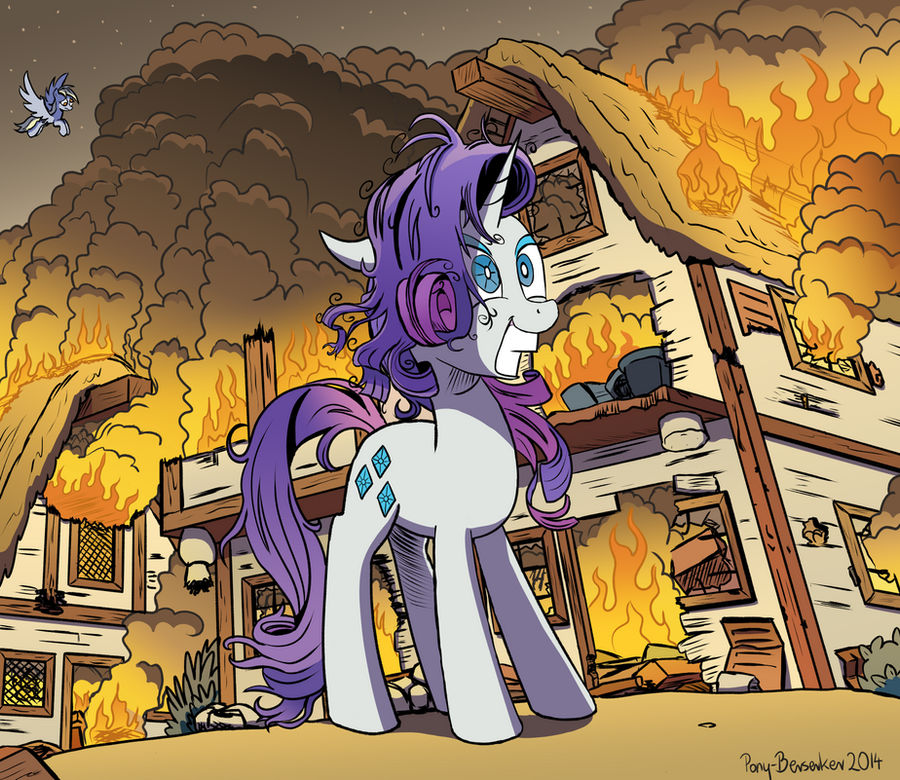 Some Mares Just Want to Watch The World Burn
