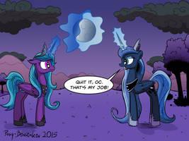 Moon Wars by Pony-Berserker
