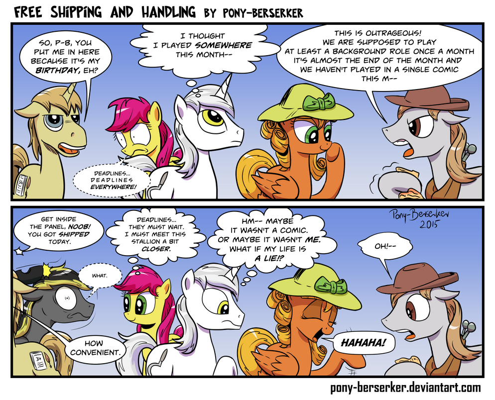 Free Shipping And Handling by Pony-Berserker