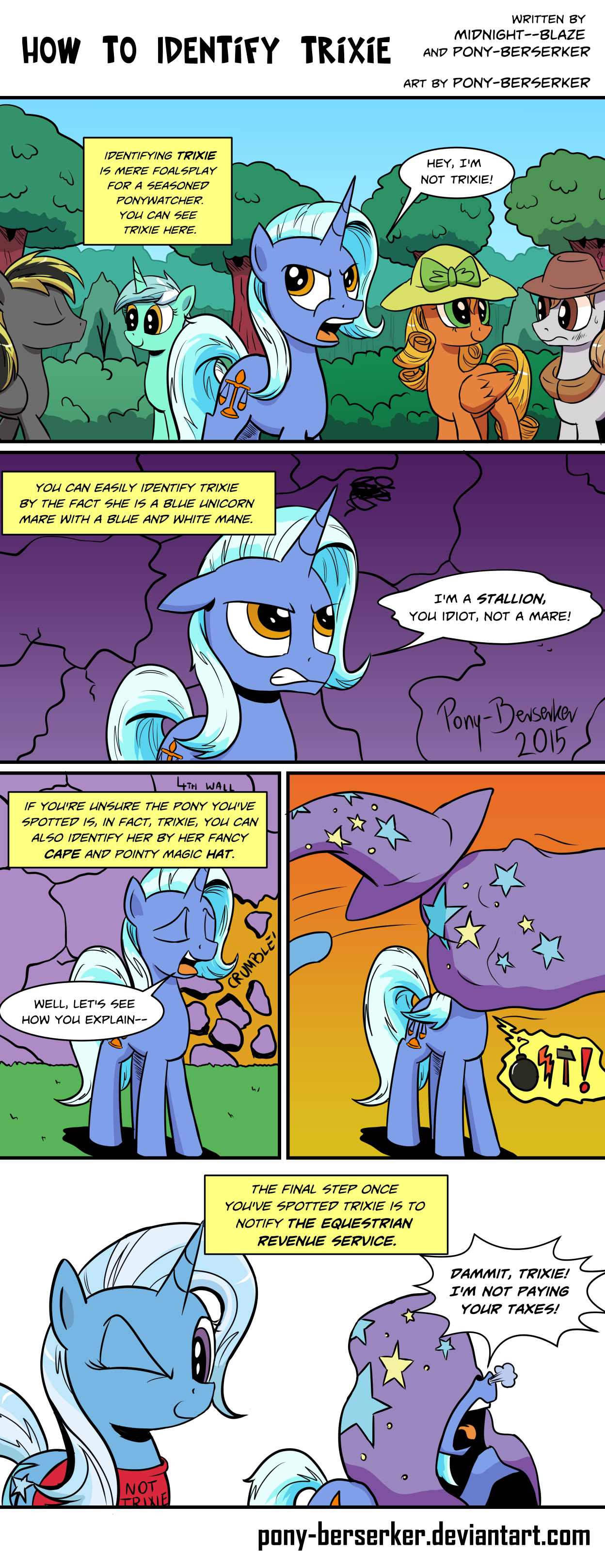 How To Identify Trixie by Pony-Berserker