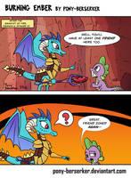 Burning Ember by Pony-Berserker