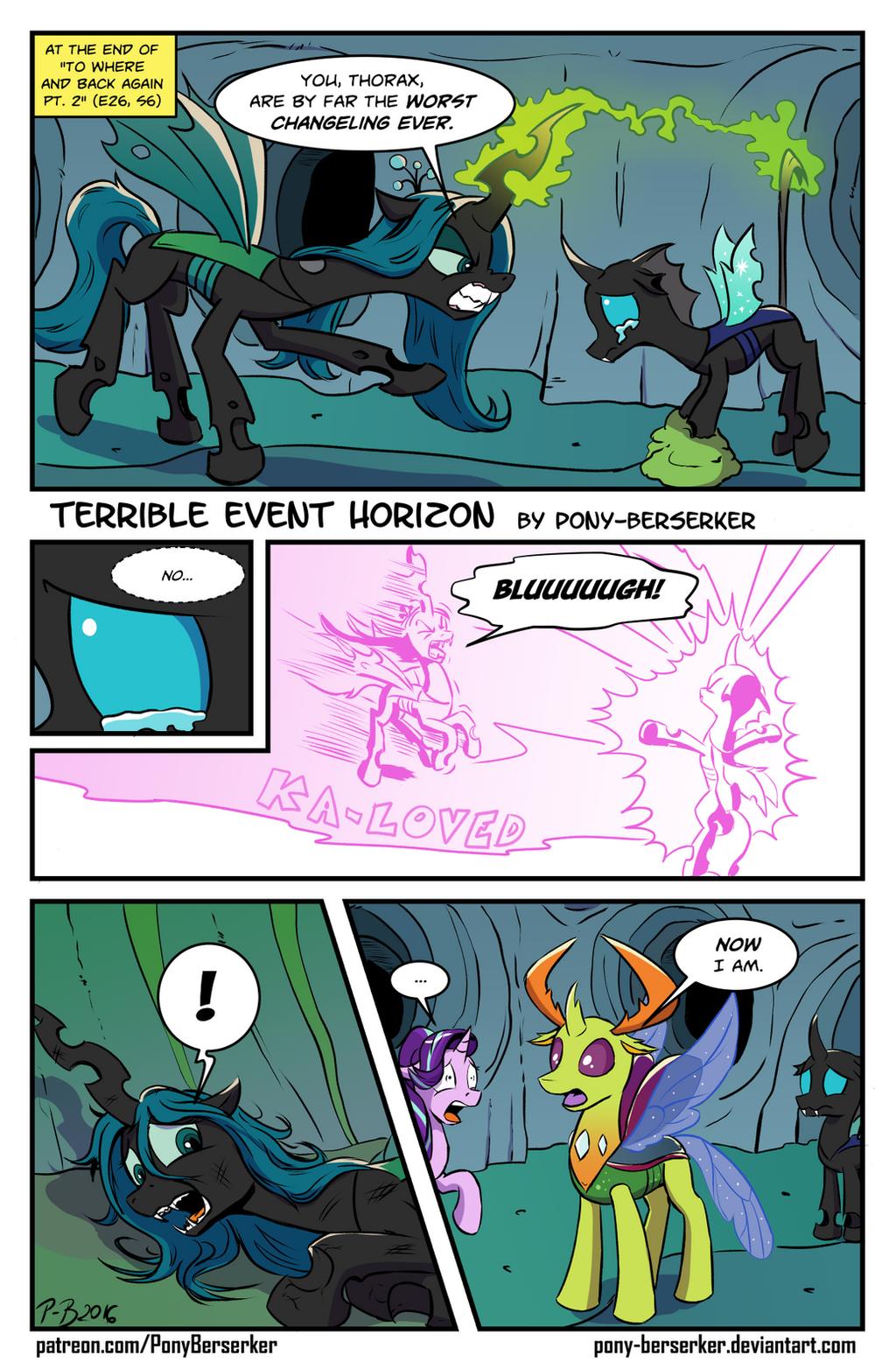 Terrible Event Horizon by Pony-Berserker