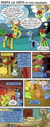 Pasta La Vista by Pony-Berserker