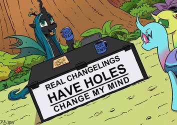 Changeling My Mind by Pony-Berserker