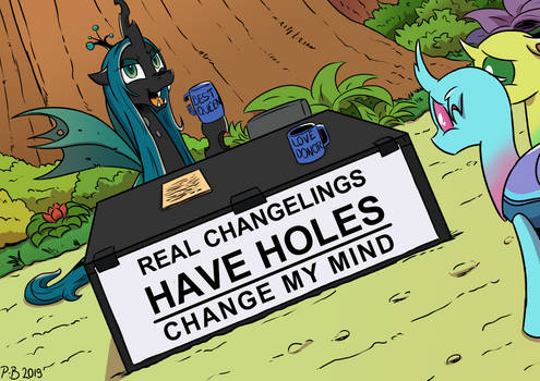 Changeling My Mind by Pony-Berserker