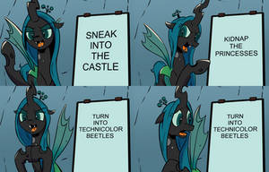 Chrysalis's Diabolical Plan