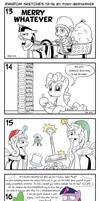 Random sketches 13-16