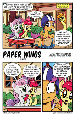 Paper Wings (page 1)