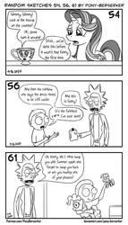 Random sketches 54, 56, 61 by Pony-Berserker