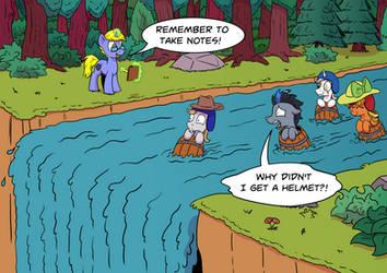 Barrels of Fun by Pony-Berserker