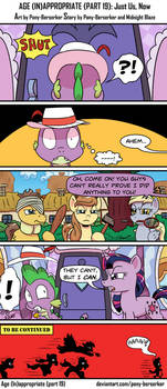 Age (In)appropriate (Part 19): Just Us, Now by Pony-Berserker