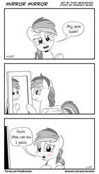 Mirror Mirror by Pony-Berserker