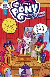 My Little Pony Issue #93: RI cover by Pony-Berserker
