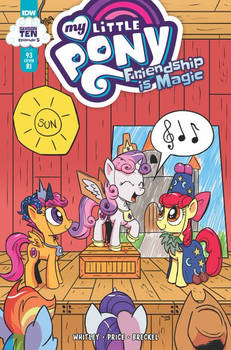 My Little Pony Issue #93: RI cover