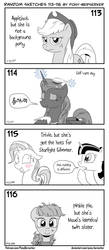 Random sketches 113-116 by Pony-Berserker