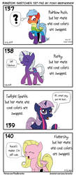 Random sketches 137-140 by Pony-Berserker