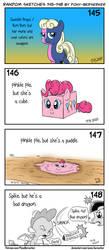 Random sketches 145-148 by Pony-Berserker