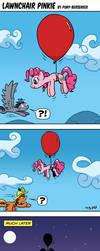 Lawnchair Pinkie by Pony-Berserker
