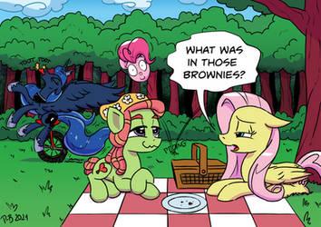 Lookin' Out My Back Door by Pony-Berserker