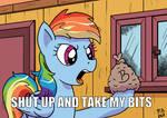 Take My Bits by Pony-Berserker