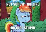 Not Sure by Pony-Berserker