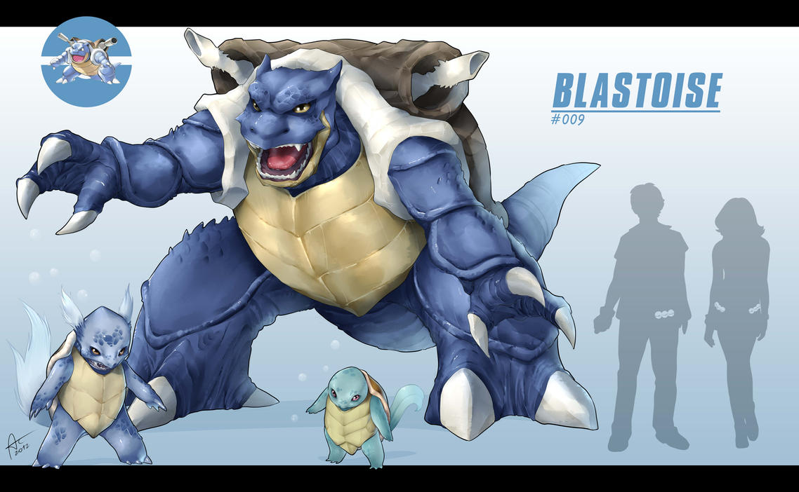 Real Blastoise by alanscampos