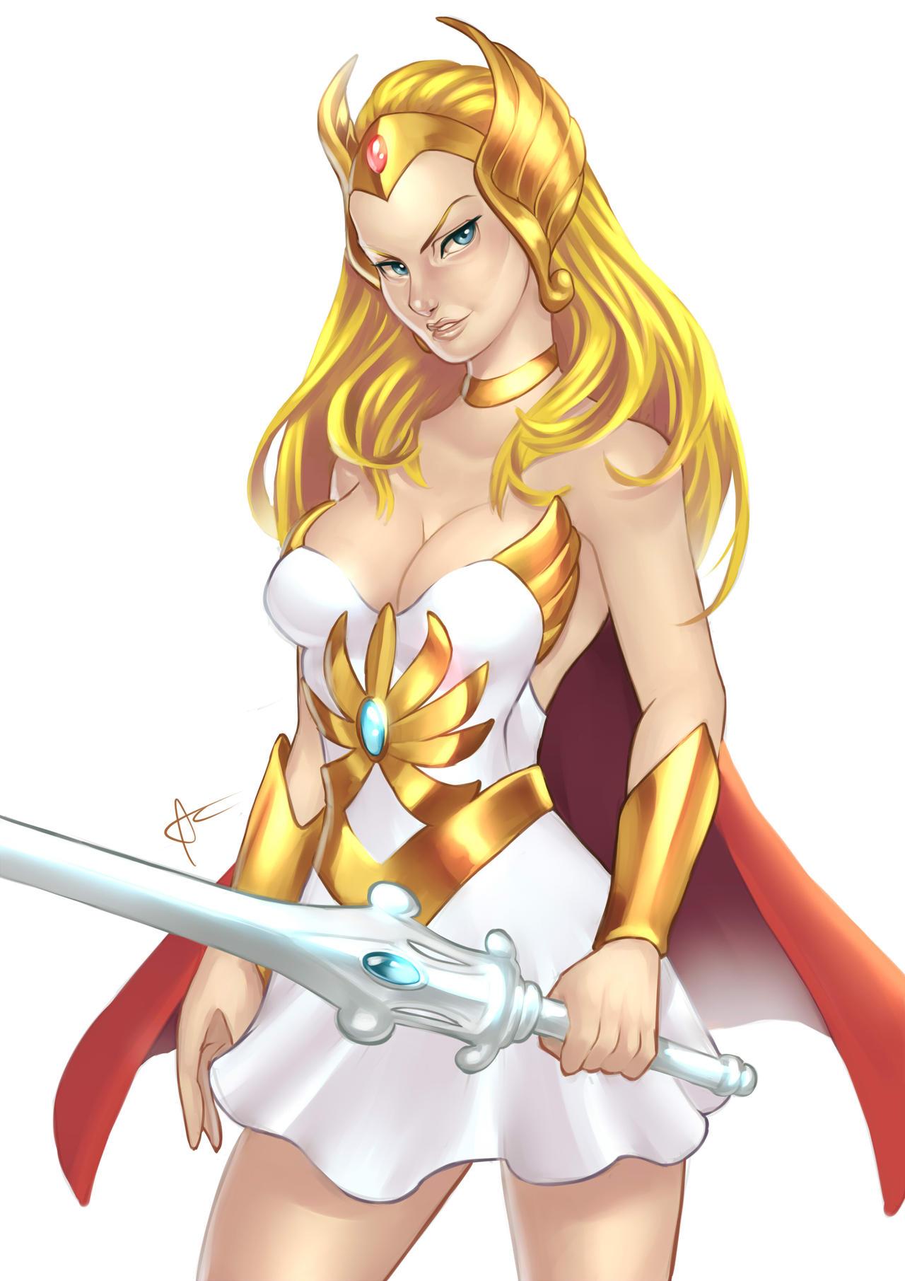 She-ra by https://www.deviantart.com/liss-ka on