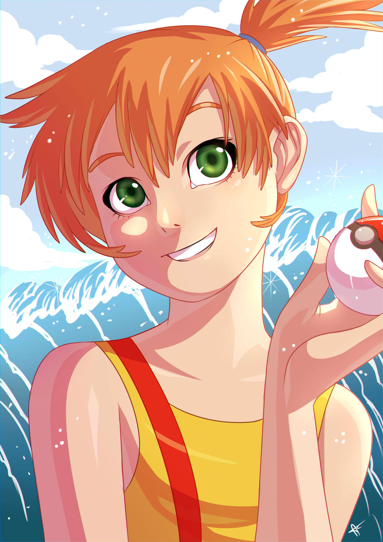 Misty by alanscampos