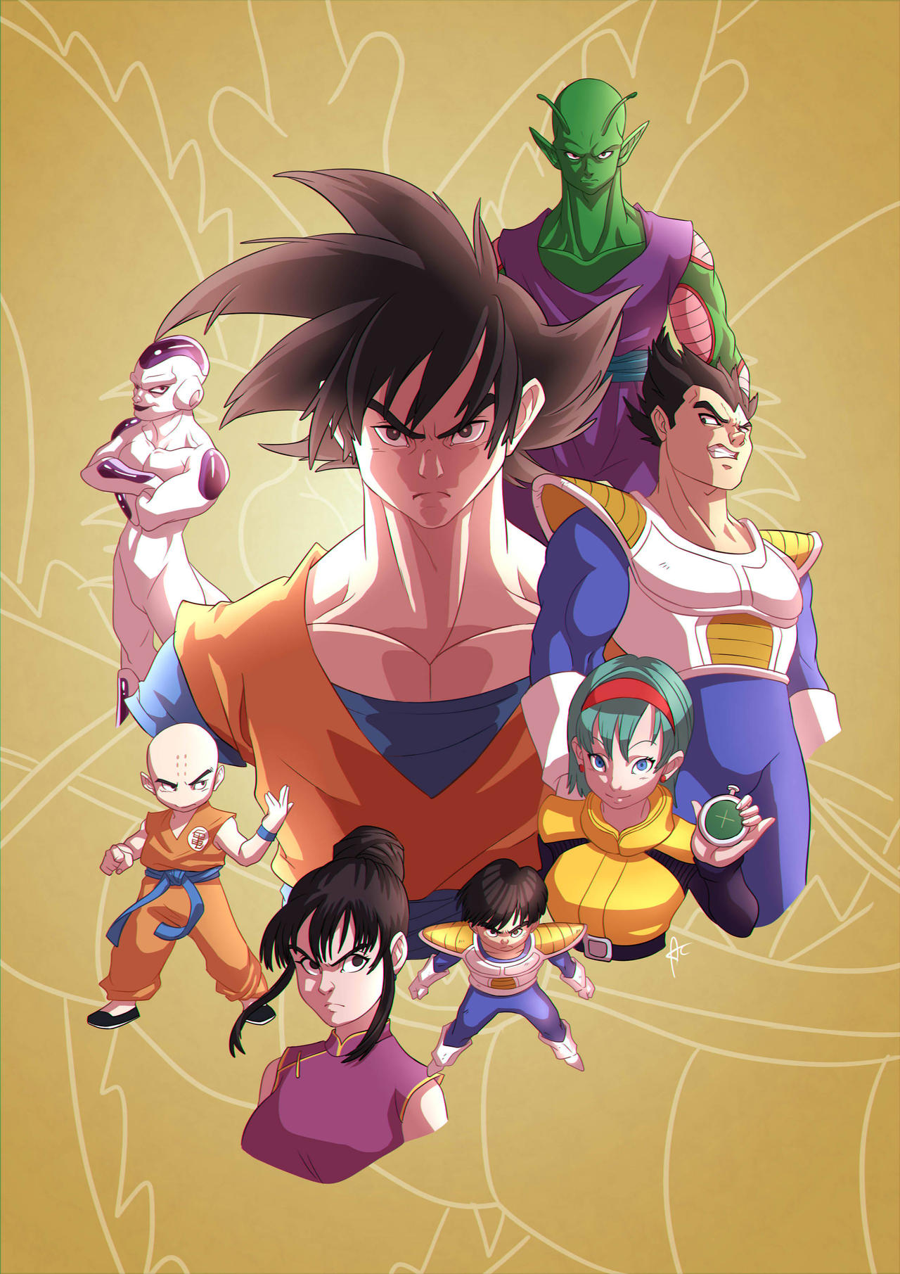 Dragon Ball Z by alanscampos