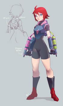 Cora New Costume
