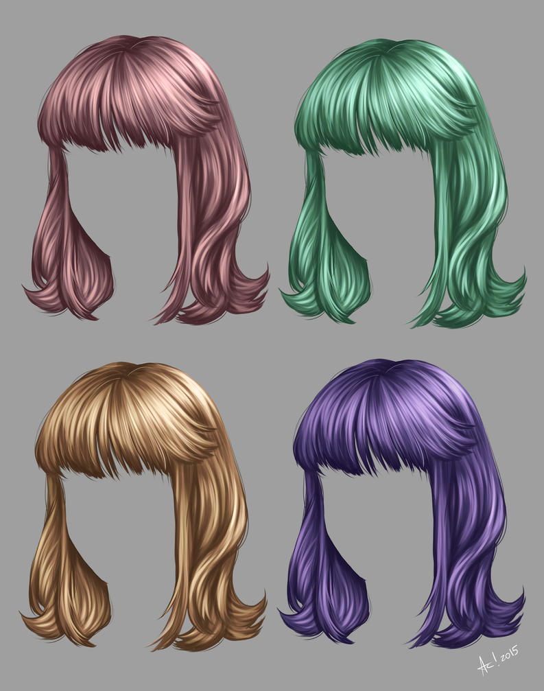 How paint Hair by alanscampos